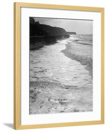 Cromer by Moonlight--Framed Photographic Print