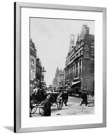 Tottenham Court Road C. 1895--Framed Photographic Print