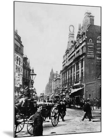 Tottenham Court Road C. 1895--Mounted Photographic Print