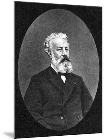 Jules Verne--Mounted Photographic Print