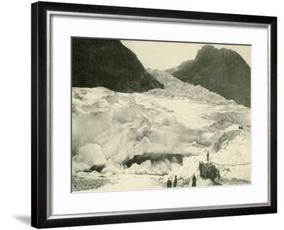 Glacier, Norway--Framed Photographic Print