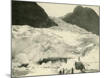 Glacier, Norway--Mounted Photographic Print