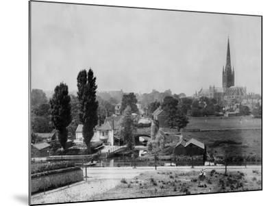 Norwich--Mounted Photographic Print