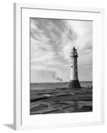 New Brighton Lighthouse--Framed Photographic Print