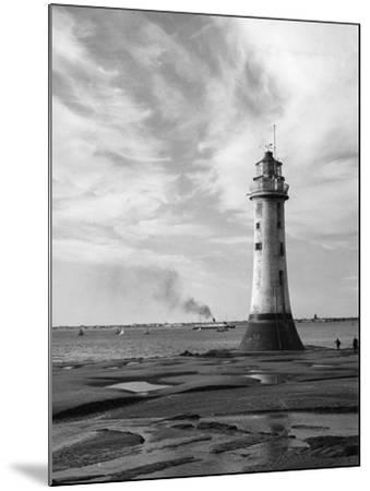 New Brighton Lighthouse--Mounted Photographic Print