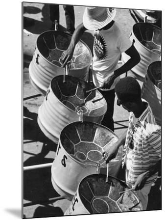 Trinidad Carnival Band--Mounted Photographic Print