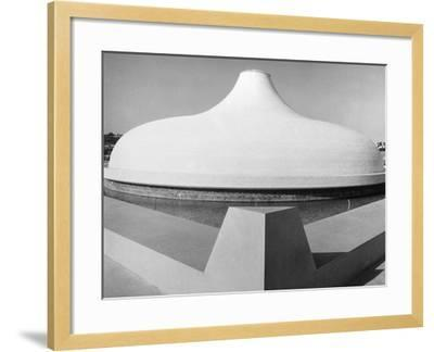 The Shrine of the Book--Framed Photographic Print