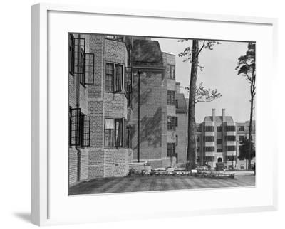 'Modern' Flats 1930S--Framed Photographic Print