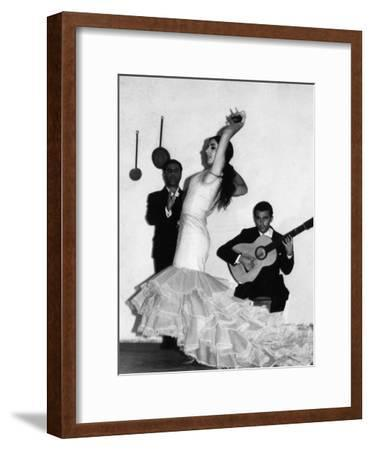 Flamenco Dancer--Framed Photographic Print