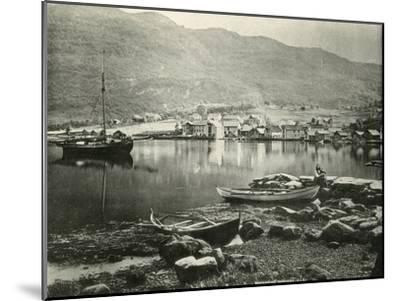 Norway Norheimsund--Mounted Photographic Print