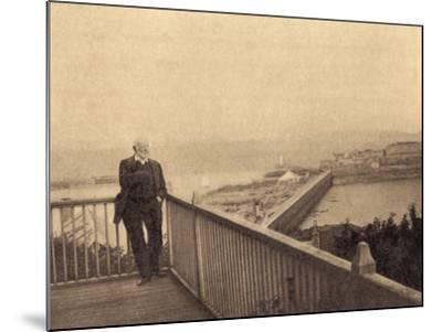 Hugo Exile Photo--Mounted Photographic Print