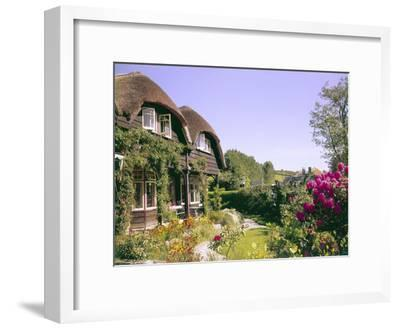 Fishermen's Cottages--Framed Photographic Print