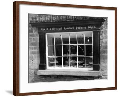 Bakewell Pudding Shop-J. Chettlburgh-Framed Photographic Print