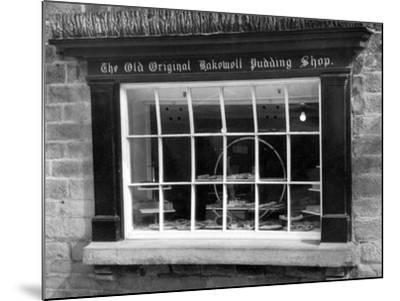Bakewell Pudding Shop-J. Chettlburgh-Mounted Photographic Print