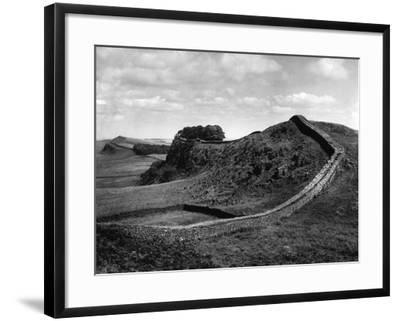 Hadrian's Wall-J. Chettlburgh-Framed Photographic Print
