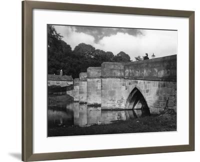 Old Bakewell Bridge--Framed Photographic Print