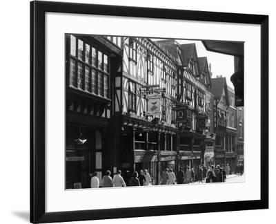 England, Chester--Framed Photographic Print