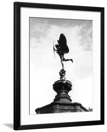 Statue of Eros-Fred Musto-Framed Photographic Print