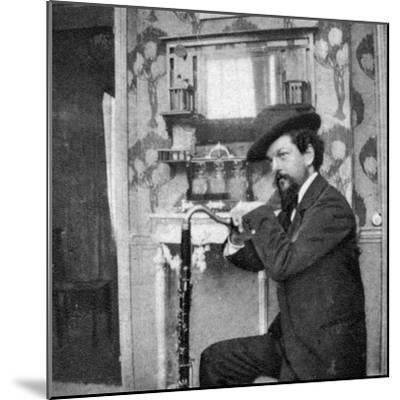 Debussy Photo-Pierre Louys-Mounted Photographic Print