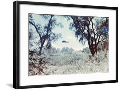 UFOs, New Mexico, Villa-Paul Villa-Framed Photographic Print