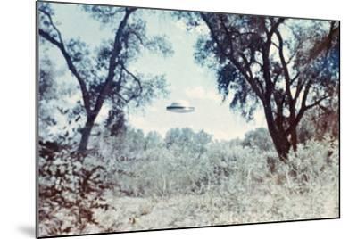 UFOs, New Mexico, Villa-Paul Villa-Mounted Photographic Print