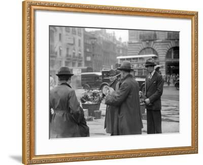 Spot the Chicken--Framed Photographic Print