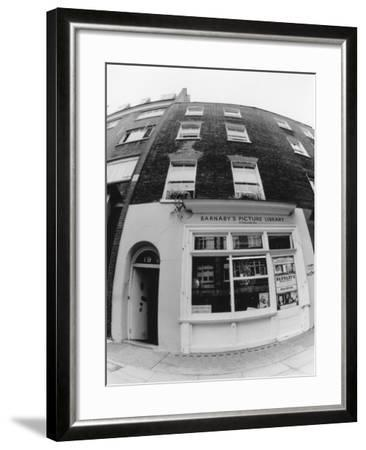 Barnaby's Library--Framed Photographic Print