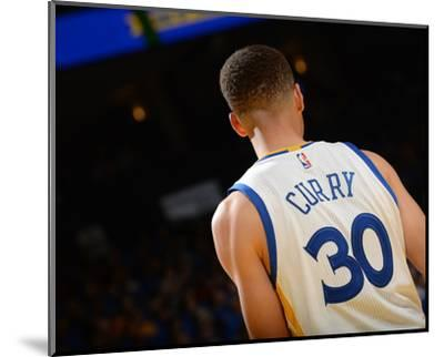 Stephen Curry #30 - Golden State Warriors vs Memphis Grizzlies, April 13, 2016-Noah Graham-Mounted Photo