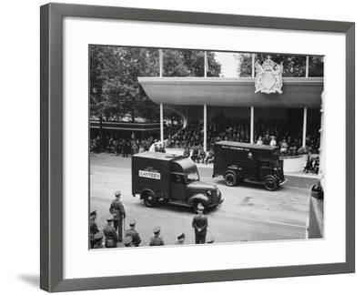 Victory Day Parade--Framed Photographic Print