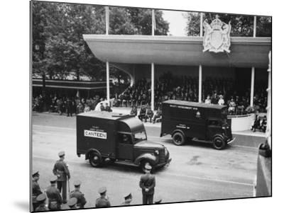 Victory Day Parade--Mounted Photographic Print