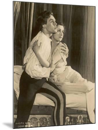 Marius Goring British Actor of Stage and Screen in the Role of Romeo with Peggy Ashcroft as Juliet- Debenham-Mounted Photographic Print