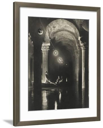 The Istanbul Underground Cistern--Framed Photographic Print