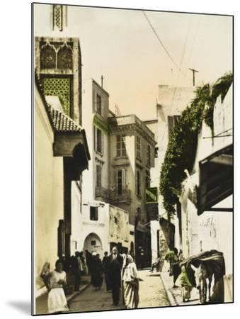 The Grand Mosque - Tangiers, Morocco--Mounted Photographic Print