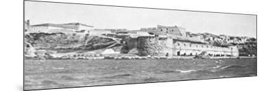 The Sedd El Bahr Forterss at the Entry to the Dardanelles During World War I-Robert Hunt-Mounted Photographic Print