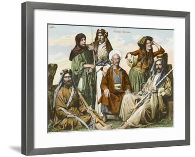 Syrians in Constantinople--Framed Photographic Print