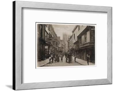 York: Low Petergate--Framed Photographic Print