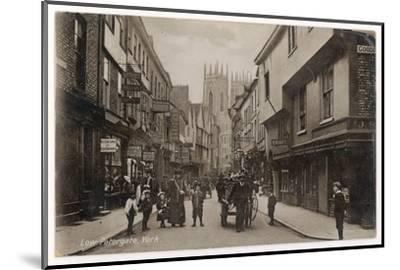York: Low Petergate--Mounted Photographic Print