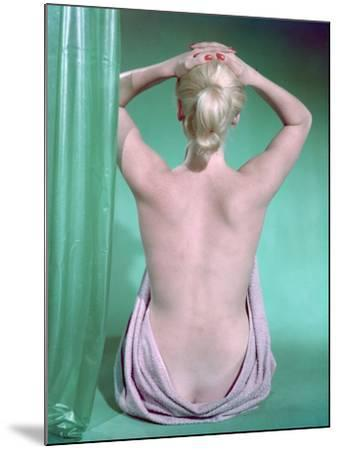Blonde with Ponytail-Charles Woof-Mounted Photographic Print