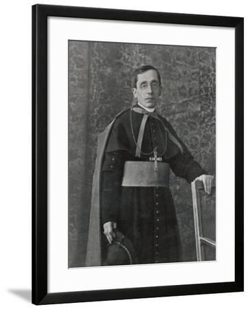 Pope Benedictus XV (Giacomo Della Chiesa) at the Time of His Election--Framed Photographic Print
