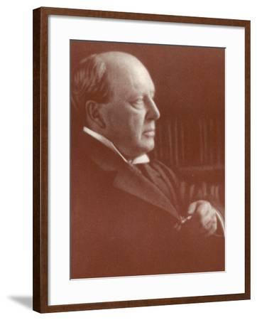 Henry James American Writer-Alvin Langdon-Framed Photographic Print