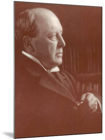 Henry James American Writer-Alvin Langdon-Mounted Photographic Print