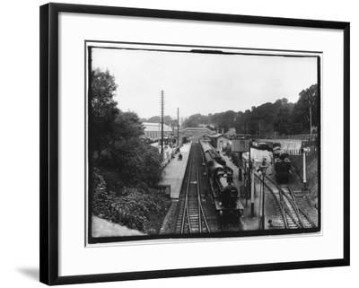 St Austell Station, Cornwall--Framed Photographic Print
