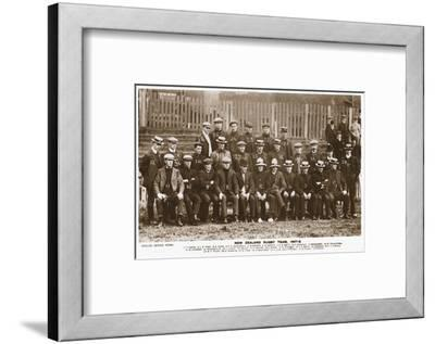 The New Zealand Rugby Team--Framed Photographic Print