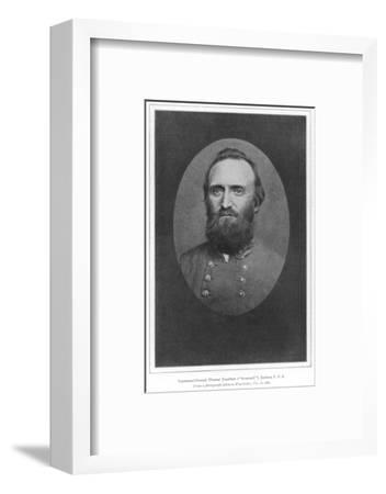 Stonewall Jackson Photo--Framed Photographic Print