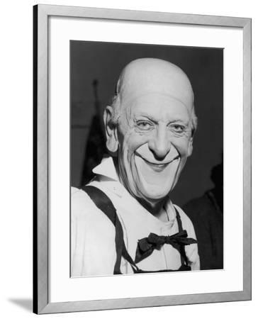 """Karl Adrien """"Grock"""" Wettach a Swiss Clown--Framed Photographic Print"""