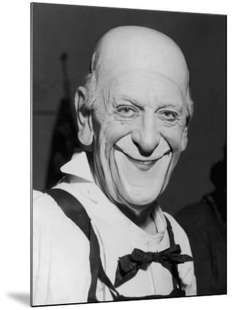 "Karl Adrien ""Grock"" Wettach a Swiss Clown--Mounted Photographic Print"
