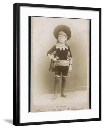 Boy in a Cavalier Costume (A Style--Framed Photographic Print