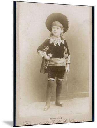 Boy in a Cavalier Costume (A Style--Mounted Photographic Print