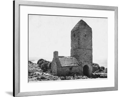 The Tower, Puffin Island, Anglesey--Framed Photographic Print