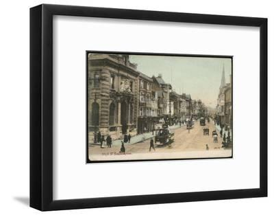 Southampton, Hampshire: the High Street--Framed Photographic Print